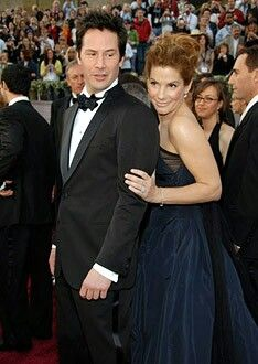 Keanu Reeves and Sandra Bullock - The 78th Annual Academy Awards, March 5, 2006