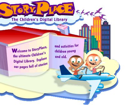 The StoryPlace Pre-school Library is full of great activities.  Elementary Library, too.