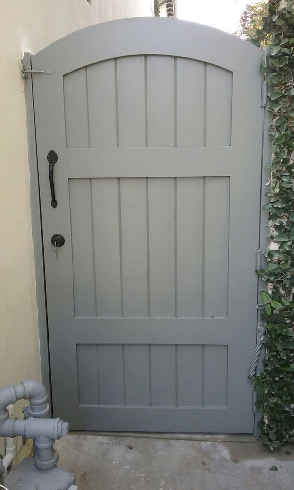 Photo of OC Local Garage Door & Gate - Costa Mesa, CA, United States. Supply and install new gate custom size in Newport coast by oc local garage doors and gates