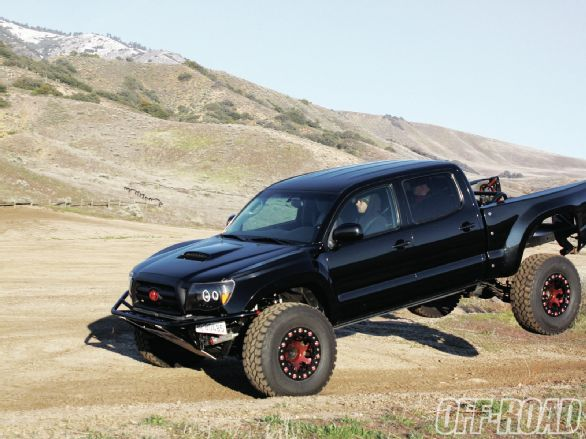 2008 Toyota Tacoma prerunner, Diabolical Toy, built by SMP Fabworks, only on off-roadweb.com, the official website of Off-Road Magazine.