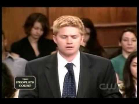 Miami law student gets destroyed on the Peoples Court.