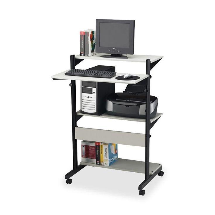 Adjustable Computer Desk Workstation