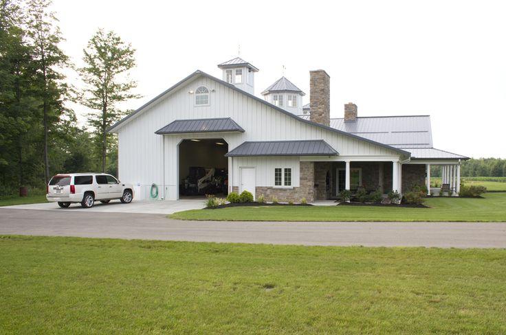 102 best metal building home images on pinterest cottage for Morton garages