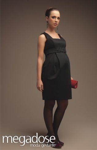 Vestido preto com meia calça                                                                                                                                                                                 Mais