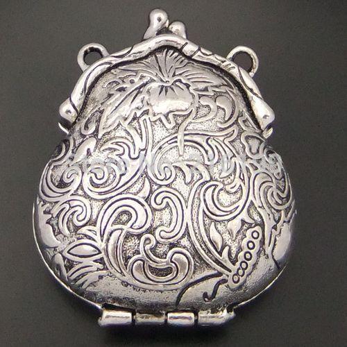 Aliexpress.com: Comprar Free Style vendimia del envío Antiqued del tono de plata tallados monedero Locket colgantes 2 unids 04452 de colgante de acrílico fiable proveedores en Best D Jewelry Supplies