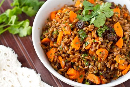 ... Spelt/wheat berries on Pinterest | Wheat berry salad, Grain salad and