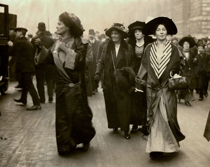 Emmeline Pethick Lawrence and Christabel Pankhurst, c.1908-1912. | by LSE Library