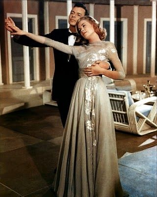 Grace Kelly - Helen Rose Gown, one of several from High Society which were given to Grace as a wedding gift from MGM.  One of my fav movies!