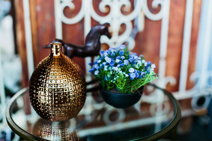 Beautiful bronze accents are on trend for Spring #interiors #decor