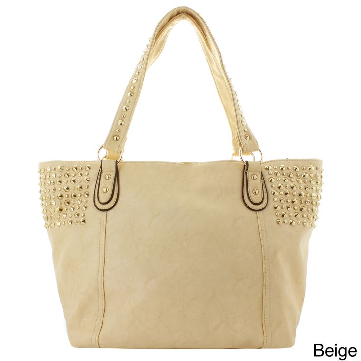 Oasis Handbag 'Flavia' Studded Panel Tote, Women's