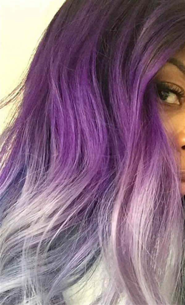 Her colorist, Marcia Hamilton, used Pravana Vivids to get the ~glorious~ color.