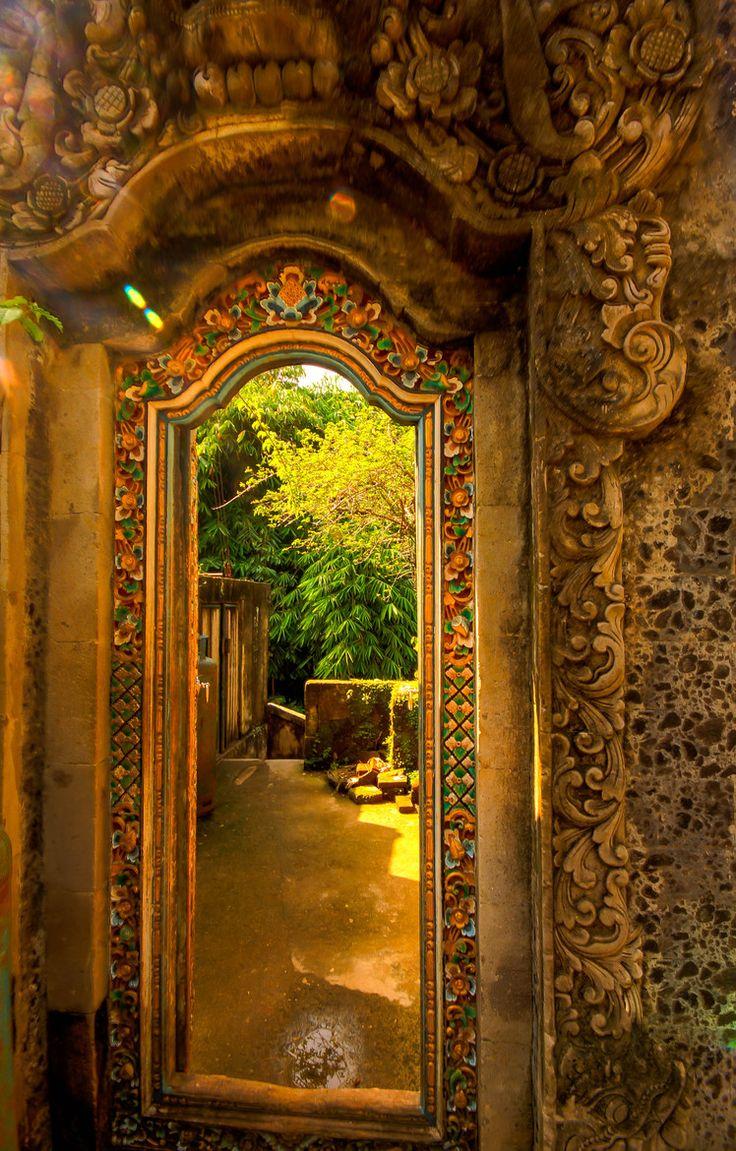 Doorway in Ubud - Bali.