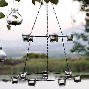 Tiered Hanging Tealight Holders   The White Company