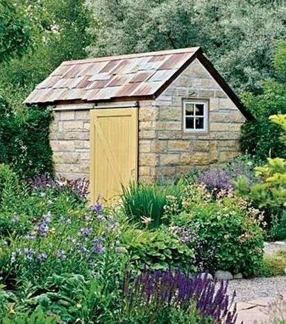 17 best images about primitive garden sheds on pinterest for Garden house for tools