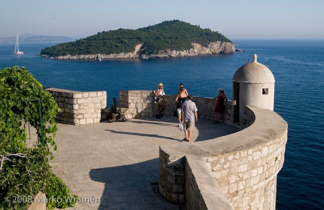 Dubrovnik: Brick Architecture, Smooth Brick