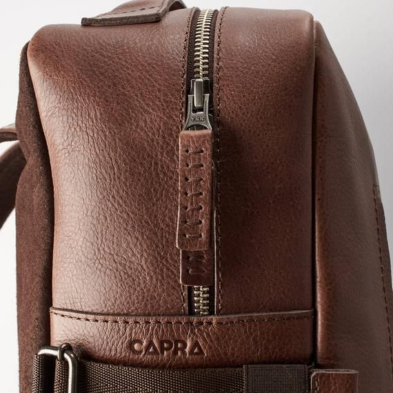 cbc51517c2bd Brown Leather Laptop Backpack Men. Travel Rucksack, Handmade Bookbag ...