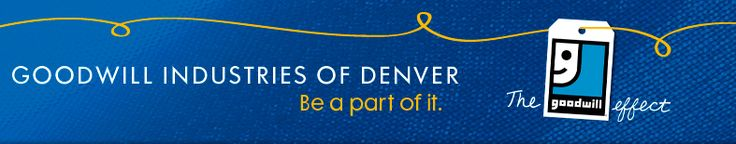 Goodwill Industries of Denver Retail Store and Donation Center Listing
