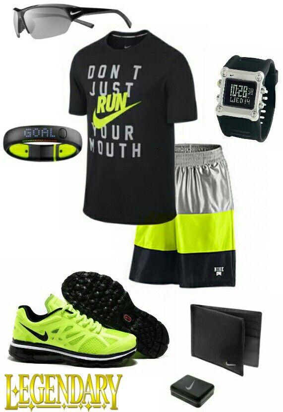 Mens fashion Nike gym outfit
