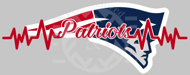 New to EAPersonalizedGifts on Etsy: My Heart Beats for the Patriots New England window decal pro football (12.00 USD)