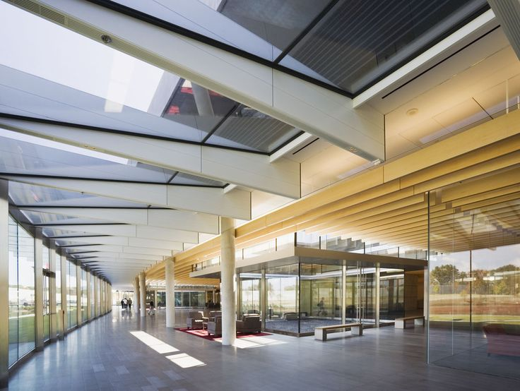 Howard Hughes Medical Institute – Janelia Farm Campus | Rafael Viñoly Architects | Interior view. Photos: Jeff Goldberg / Esto
