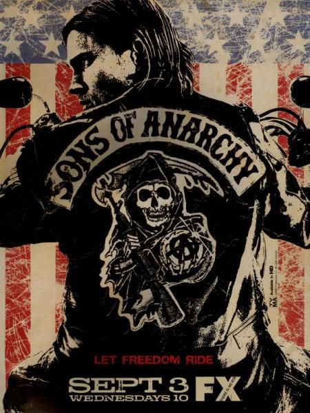 Sons Of Anarchy - Season 1 Bound by blood as well as by duty, Jackson Teller, his mother, Gemma, and his stepfather, Clay, are each prominent figures in a motorcycle gang that runs both a auto body shop and an arms trade.  In the first season Jax's journey begins with two discoveries, his son's harrowing premature birth by Wendy Case, his crank-addicted ex-wife, and the discovery of a life-altering document written by his father who died 14 years earlier. Drea De Matteo stars as Wendy, whose…