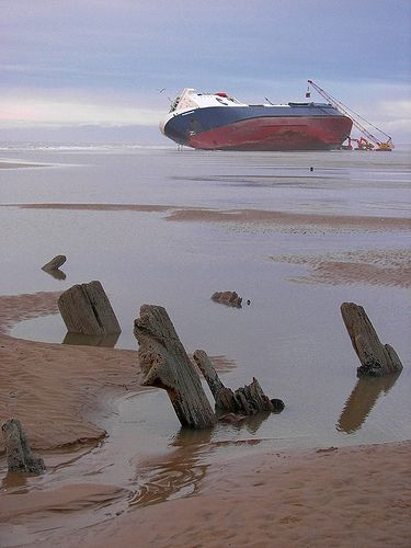 Ship wrecks! Blackpool, Lancashire