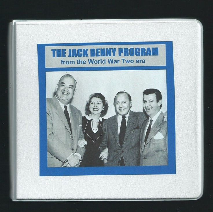JACK BENNY WW2 ERA 8 CD otr comedy radio shows M Livingston Phil Harris + guests