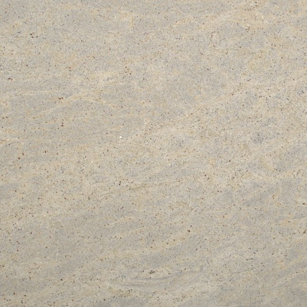 Kashmir White Granite Features A Tight Pattern Of Soft Cream And Grey Tones On An Off White