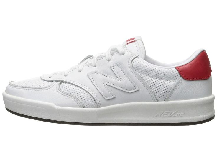 New Balance Classics CRT300v1 Men's Court Shoes White/Red