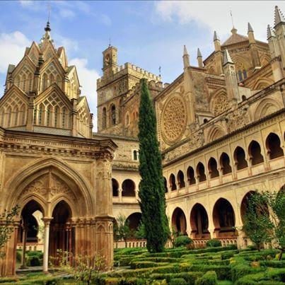 Monasterio de Guadalupe, Caceres, España