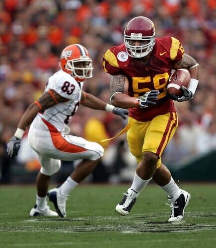 Rey Maualuga USC Football Fight On Men Of Troy