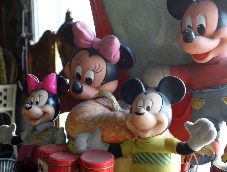 Mickey & Minnie, Sonia Carroza Antiguedades