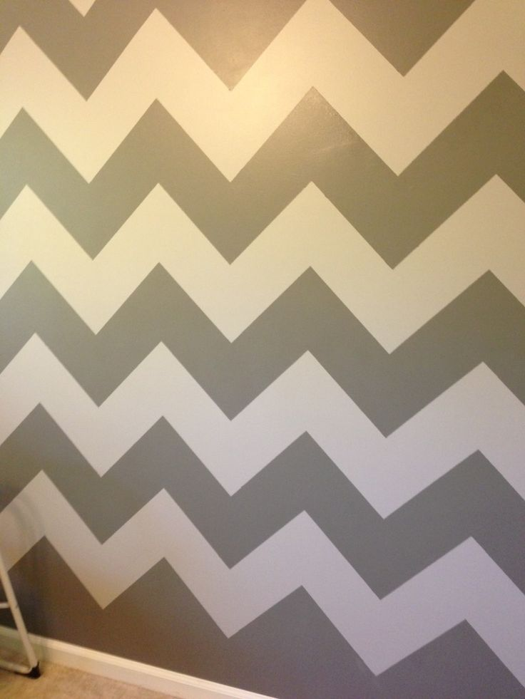 25 b sta chevron walls id erna p pinterest chevron for Chevron template for walls