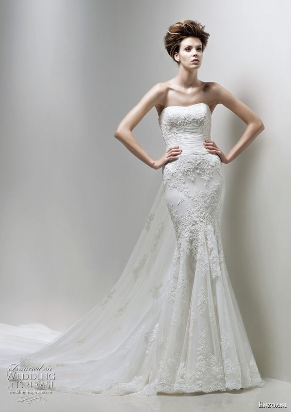 enzoani 2011 bridal collection wedding dresses beautiful