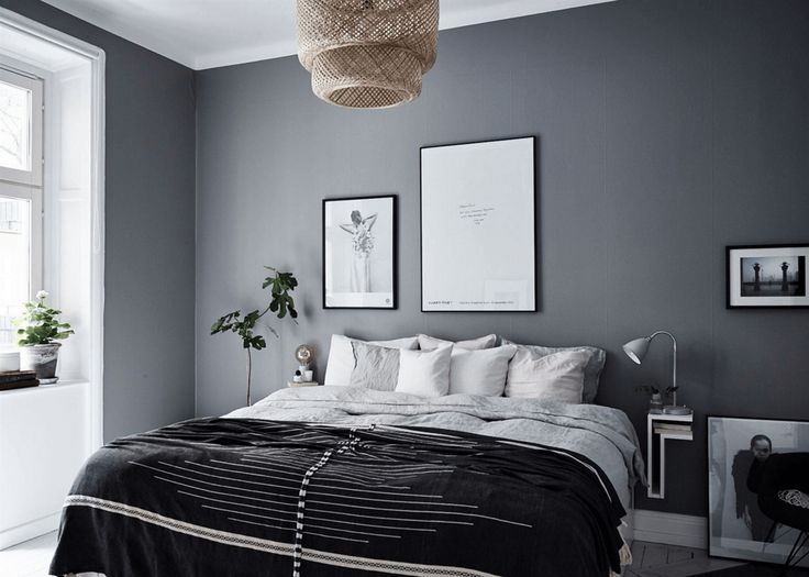 Home In Grey   Via Cocolapinedesign.com · Dark Bedroom ...