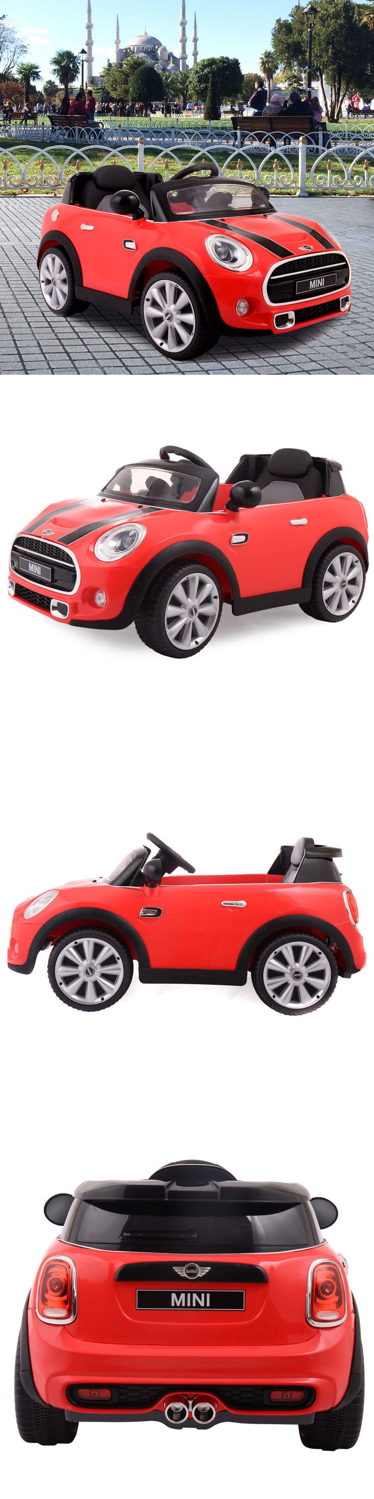 Ride On Toys and Accessories 145944: Bmw Mini Hatch 12V Mp3 Rc Electric Kids Ride On Car Licensed Remote Control Red -> BUY IT NOW ONLY: $126.99 on eBay!