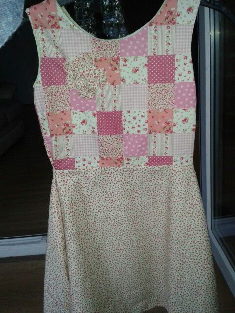 My second ever dress.. for my step-daughter
