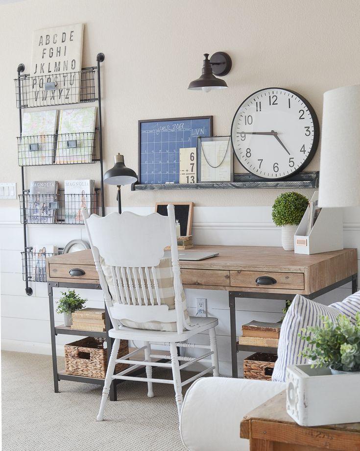 32+ White farmhouse style desk best