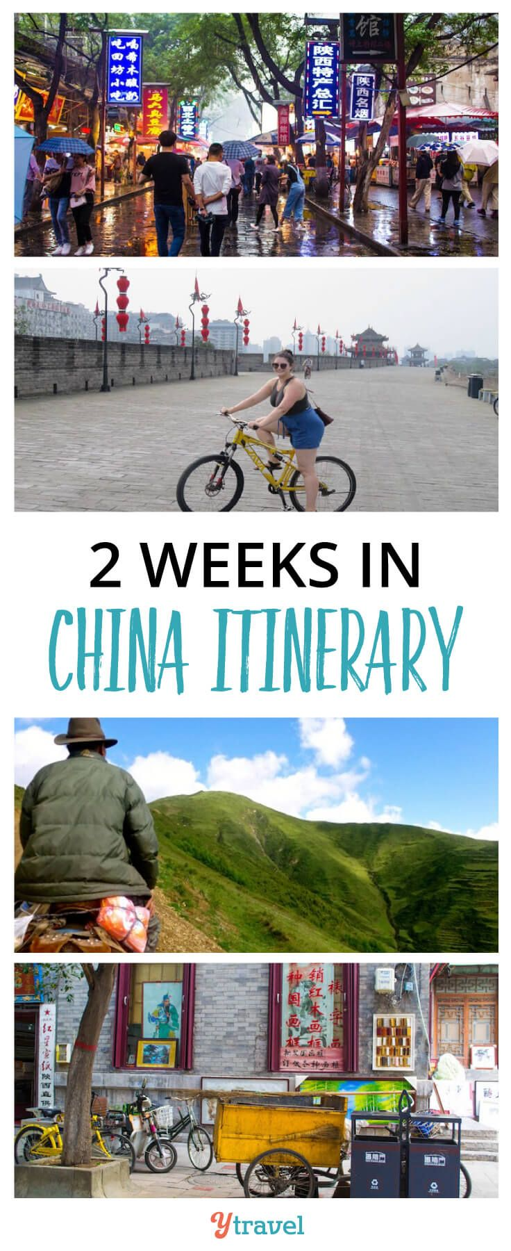 2 Week China Itinerary. Tips on the best places to visit in China, plus info on tours and accommodation. #China #Asia #travel