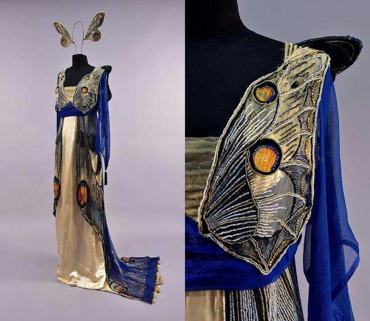 Butterfly dress Worth 1912