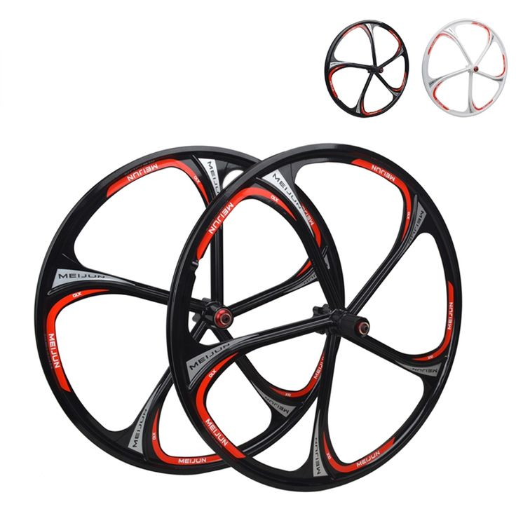 83.30$  Buy now - http://ali04g.shopchina.info/go.php?t=32471694363 - 2015 New Product MIEJUN 26-Inches Mountain Bikes Magnesium Wheels With Disc Brake Bearing Hubs Integrally Wheelset  #aliexpresschina