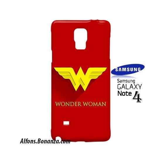 Wonder Woman Superhero Samsung Galaxy Note 4 Case