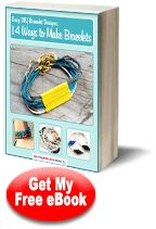 Find macrame patterns, friendship bracelet designs, knockoff jewelry projects, and more in our new eBook - Easy DIY Bracelet Designs: 14 Ways to Make Bracelets