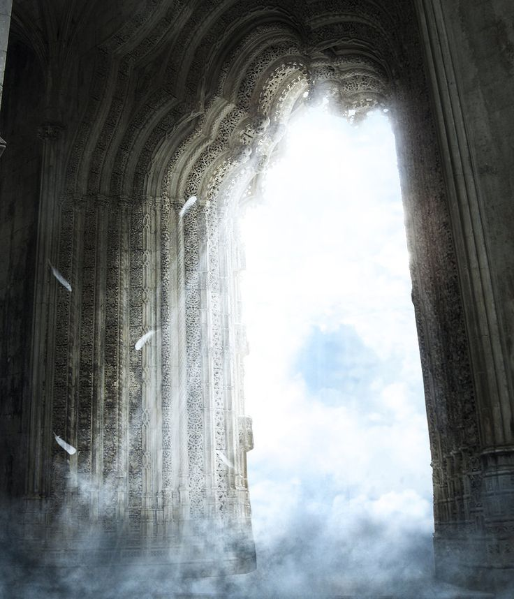Gates of Heaven...I am the way ... the truth... and the life...no man cometh unto The Father...But By Me.