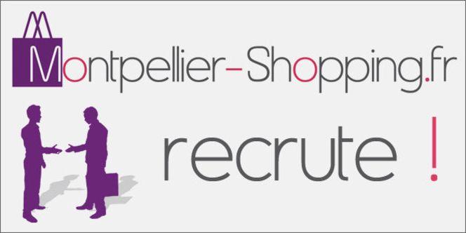 Offre d'emploi Montpellier Commercial Web pour www.Montpellier-Shopping.fr