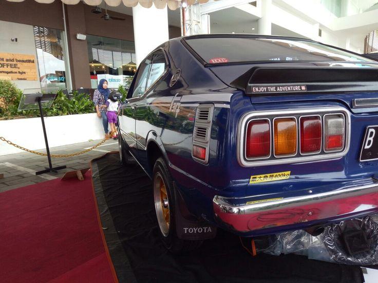 From behind ( Toyota Corolla KE35)