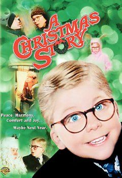 A Christmas Story on DVD. Set in Indiana during the 1940s; 9 year-old Ralphie desperately wants a Red Ryder BB-gun for Christmas, over his parents' objections. Rated PG.