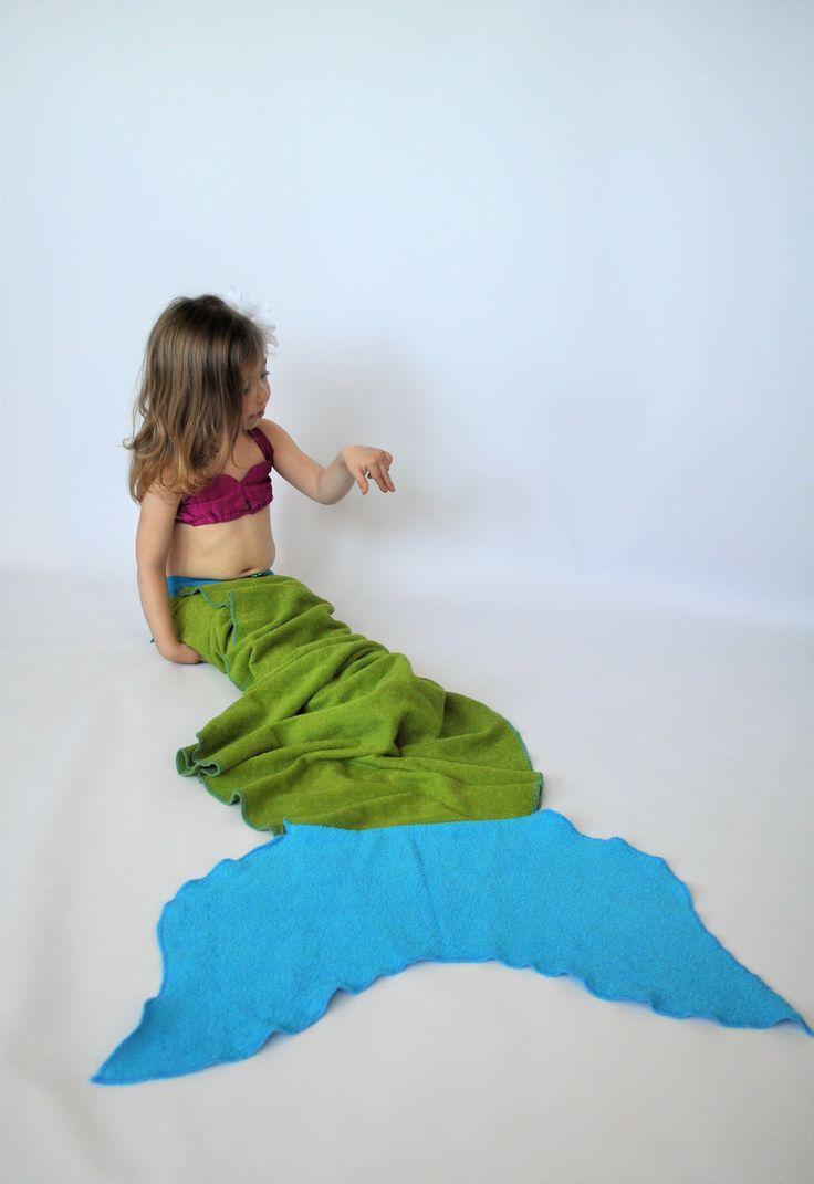 Mermaid tail towel // green mermaid tail towel // Tail Towel // Mermaid towel // mermaid tail blanket by MartinelliSweets on Etsy https://www.etsy.com/listing/517760365/mermaid-tail-towel-green-mermaid-tail