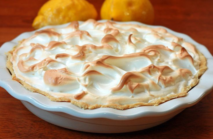 Classic Lemon Meringue Pie...one of my sister-in-law's favorites...I'll keep the recipe until she returns to NJ from Fl!