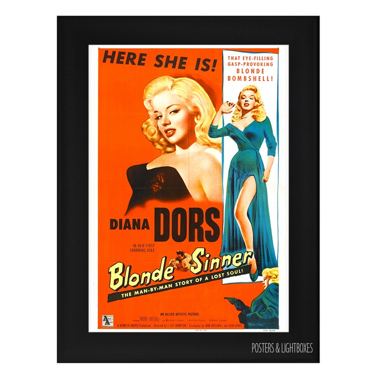 The 10 best Framed A4 Classic Film Posters images on Pinterest ...
